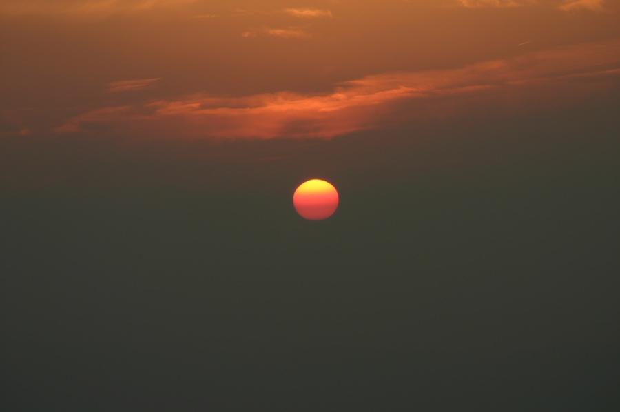 coucher de soleil shenandoah