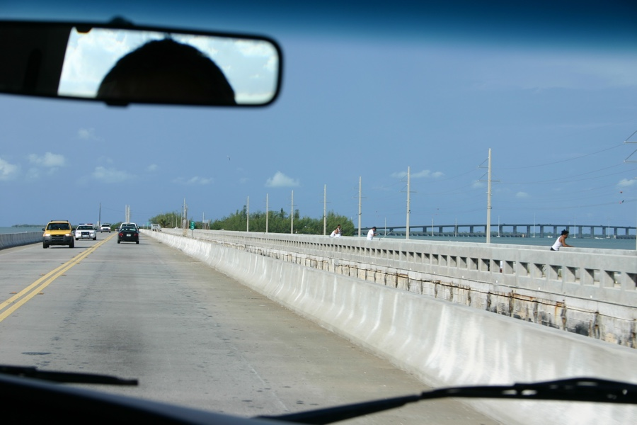 route vers Key West