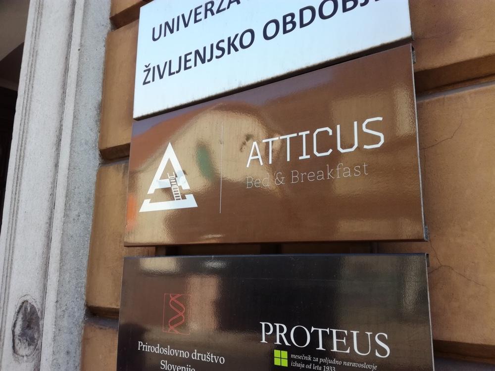 Bed & breakfast Atticus - Ljubljana